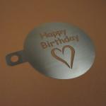 Happy Birthday von meine-kaffeeschablone.de